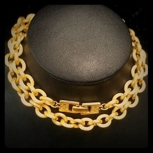 Givenchy! RARE Vintage Brushed Gold Chain/…